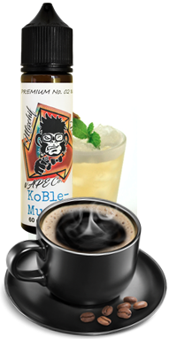 KoBle – a slightly sweet and creamy coffee VapE with a well balanced blend and medley of energy and smooth coffee flavours