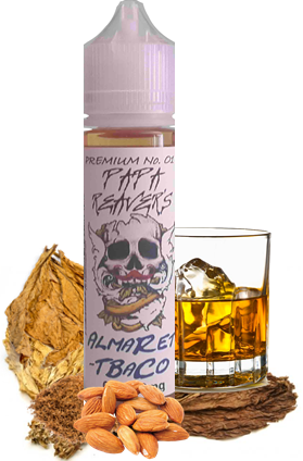 """""""a pleasant smooth on point tobacco flavour, this one has earthy tobacco undertones and is complimented with a subtle hint of Amaretto"""""""